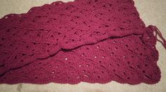 Ravelry: Irish Wave Baby Afghan by Elizabeth Mareno