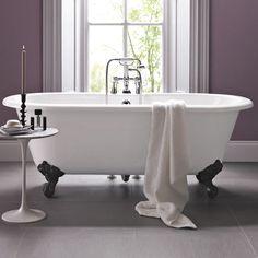 Cambridge Bath With Traditional Cast Iron Feet | bathstore
