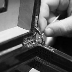Smythson Craftsmanship  www.smythson.com  #leather