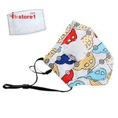 kids face mask with filter Brand new Washable (hand wash recommended) 1 carbon filter included Adjustable earloop and nose bridge for comfort Accessories Cartoon Panda, Cartoon Kids, Facial, Child Face, You Are The World, Baby Cover, Cartoon Design, Mouth Mask, Burp Cloths
