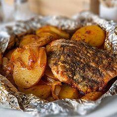 Kotleta v alobalu Mojito, Tandoori Chicken, Pork, Meat, Ethnic Recipes, Design, Decor, Pork Roulade, Decorating