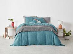 Dark Green Bed Linen Uk - Go Green Collections Bed Linen Uk, Green Bed Linen, Green Bed Sheets, Bed Linen Sets, Linen Duvet, Teal Comforter, Green Bedding, Bedroom Green, Bed Sets