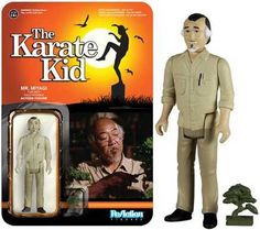 The Karate Kid - Mr. Myagi  Funko  Reaction Figures, The Karate kid, The Karate Kid Series www.detoyboys.nl