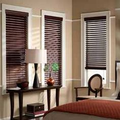 Crown Faux Wood Blinds..