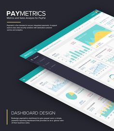 Paymetrics: UI/UX Dashboard Design on Behance