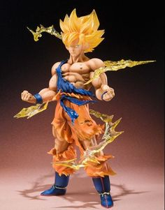 Banai Figuarts ZERO Dragon Ball Kai Super Saiyan Goku Action Figure Anime Japan featured on Jzool.com