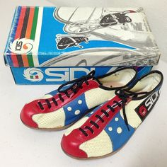 vintage Sidi Bike Shoes, Cycling Shoes, Cycling Gear, Cycling Outfit, Vintage Bicycle Parts, Vintage Cycles, Bike Details, Cycle Chic, Bike Style