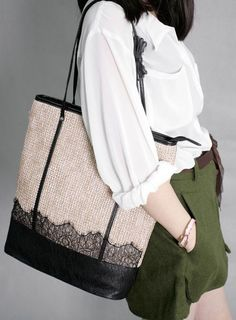 Large-capacity Knit Single Shoulder Bag Straw Bag eb4b2e334051a