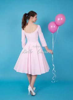 Petticoatkleid Maria 2220 von Atelier Belle Couture 50er Jahre Petticoatkleider Rockabilly Kleider auf DaWanda.com
