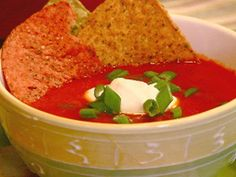 Get Jazzed-Up Tomato Soup Recipe from Food Network