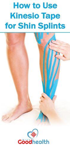 http://missgoodhealth.com/using-kinesio-tape-to-treat-your-shin-splints/ How to use kinesio tape for shin splints