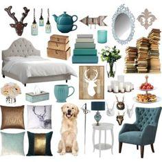 Aelin inspired bedroom