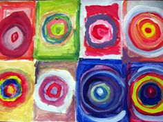 concentric circle paintin
