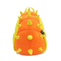 d6a7d149eb Amazon.com  BINGONE Kids Shoulder Bag 3D Cartoon Zoo Animal Yellow  Dinosaur  Toys   Games