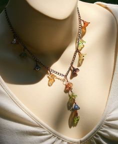 Colorful Glass Copper Wrapped Flowers on by AllowingArtDesigns, $26.00
