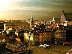 Warsaw, Old Town; photo by Karol Puzyna