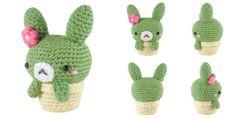 Download Cactus Bunny Amigurumi Pattern (FREE)