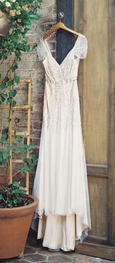 Vintage inspired dress / jenny packham