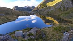 Adelaide Tarn Hut near Kahurangi National Park, New Zealand. Contributed by Anonymous. Places To Travel, Places To See, Romantic Vacations, Great View, Vacation Destinations, The Great Outdoors, Wonders Of The World, New Zealand, Cool Photos