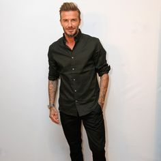 David Beckham Shows You The Right Way To Show Off Your Freshest Shoes | GQ