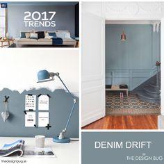 %Dulux Announce Denim Drift as the Colour for 2017
