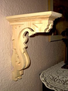 Template For Shelf Bracket Jigsaw Scroll Saw Diy