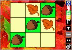 Online spelletjes rond thema Herfst.