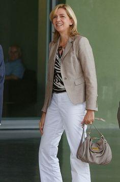 Infanta Cristina já regressou a Genebra