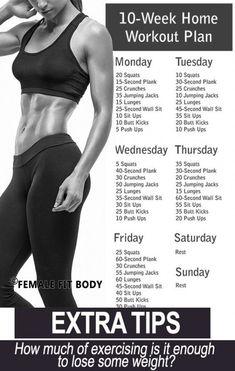 No-Gym Home Workout Plan Planos De Exercícios 7971726e714
