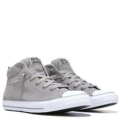 72d59c8aa8e080 Converse Men s Chuck Taylor All Star Street Mid Top Leather Sneaker Shoe  Converse Men