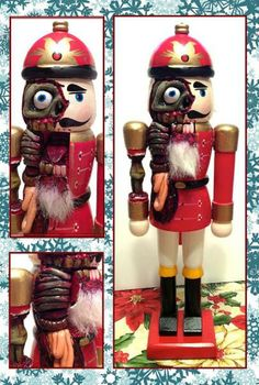 Zombie Nutcracker - this is so awful.