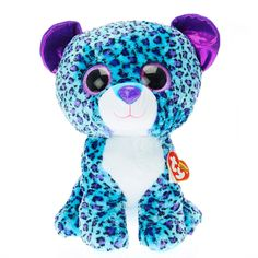 TY Beanie Boos Large Lizzie the leopard Soft Toy  9c6fc241b8a2