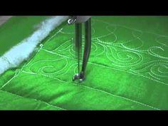 ▶ APQS Tutorial: Leaf Border or Sashing - YouTube
