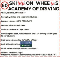 Skill on Wheels Academy of Driving Driving School, Wheels, Student, Driving Training School, College Students