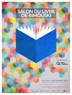 Le Salon du livre de Rimouski, du 3 au 6 novembre 2016 Diagram, Chart, Logos, Logo