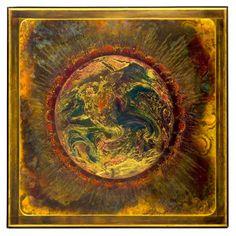 Bernhard Rohne acid etched