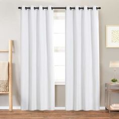 Top 10 Best White Blackout Curtains In 2020 Reviews Home Kitchen In 2020 White Blackout Curtains White Curtains Living Room Drapes