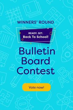 We asked teachers to share their Back-to-School bulletin boards for a chance to win $250 (plus an equal donation to one of three education-focused charities) and now it's time to choose a winner! Scroll through the gallery and vote for your favorite.