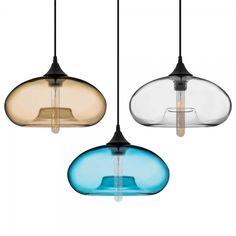 Pink Edison Industrial Aurora Modern Pendant Light | Cult Furniture
