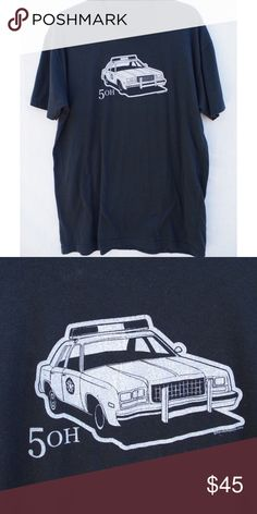 476ff3f0098 RARE 5 Oh Cop Car Graphic Tee No tag size fits like medium large. Similar  style to Unif or Dollskill. Pentagram detail on cop car.