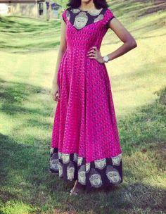 Please messege me on WhatsApp for any queries and orders Kalamkari Designs, Kurta Designs, Blouse Designs, Indian Gowns, Indian Attire, Indian Outfits, Kalamkari Dresses, Ikkat Dresses, Simple Gowns