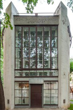 The Architecture of Konstantin Melnikov in Pictures