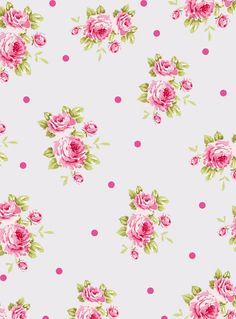 Free ravishing red floral paper from We Heart It