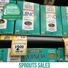 Grab a box of organic quinoa pasta for only $1.99 after $1/off one in store booklet coupon. . . Ends next month. . . . Check out my last post for more Organic/Natural Savings and take a sec to click the link in my bio to check out more deals!  . . #tomorrowsmom #cosmicmothers #feminineenergy #loa #organic #fitmom #health101 #conscience #wakeupamerica #change #nongmo #organiclife #crunchymama #organicmom #gmofree #organiclifestyle #weareone #ecofriendly #savetheearth #familysavings #frugal…