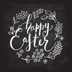 Happy Easter Calligr