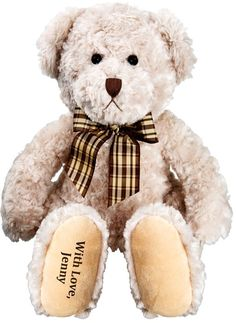 Personalised Teddy Bear | Buy Online with Identity Direct NZ
