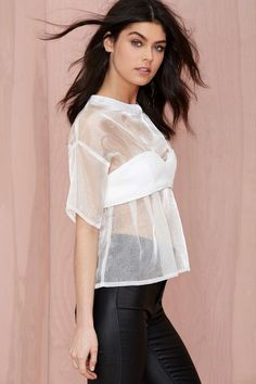 Maurie & Eve Perpetual Sheer Blouse | Shop Style Detox at Nasty Gal