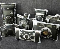 Click in Right Style with Camera Themed Home Décor
