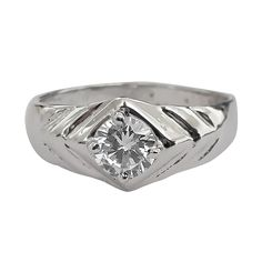 14K Hallmark White Gold ( 4.000 Gms ) Diamond ( 0.42 Ct ) Gents Band 💍 with Purity ( I / VVS2 ) .. We can Customise any kind of Real Diamond Jewellery as per your specifications and preference. You can contact us through What's app also on - 9354369464...we will immediately revert you back with additional information. Diamond Jewellery, White Gold Diamonds, Rings For Men, Wedding Rings, App, Engagement Rings, Jewelry, Enagement Rings, Diamond Jewelry