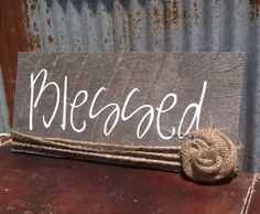 Barn Wood Decor Sign von ShabbyChicRustique auf Etsy